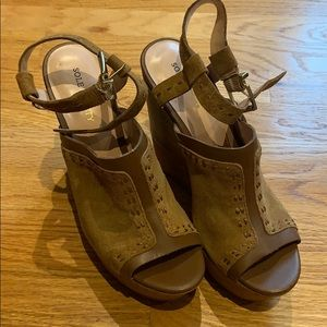 Sole Society Wedges - Women's size 7.5